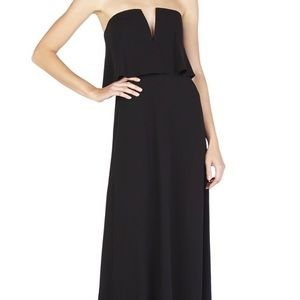 BCBG V neck Gown